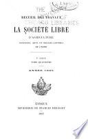 Recueil des travaux de la Société libre d'agriculture, sciences, arts et belles-lettres de l'Eure