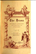 The Drama  American drama  Indexes  Books for reference and extra reading  p  327 344  Book