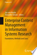 Enterprise Content Management in Information Systems Research