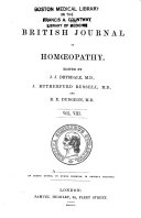 The British Journal of Homoeopathy