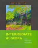 Intermediate Algebra Plus MyMathLab Student Access Kit