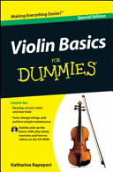 Violin Basics For Dummies Special Edition Custom
