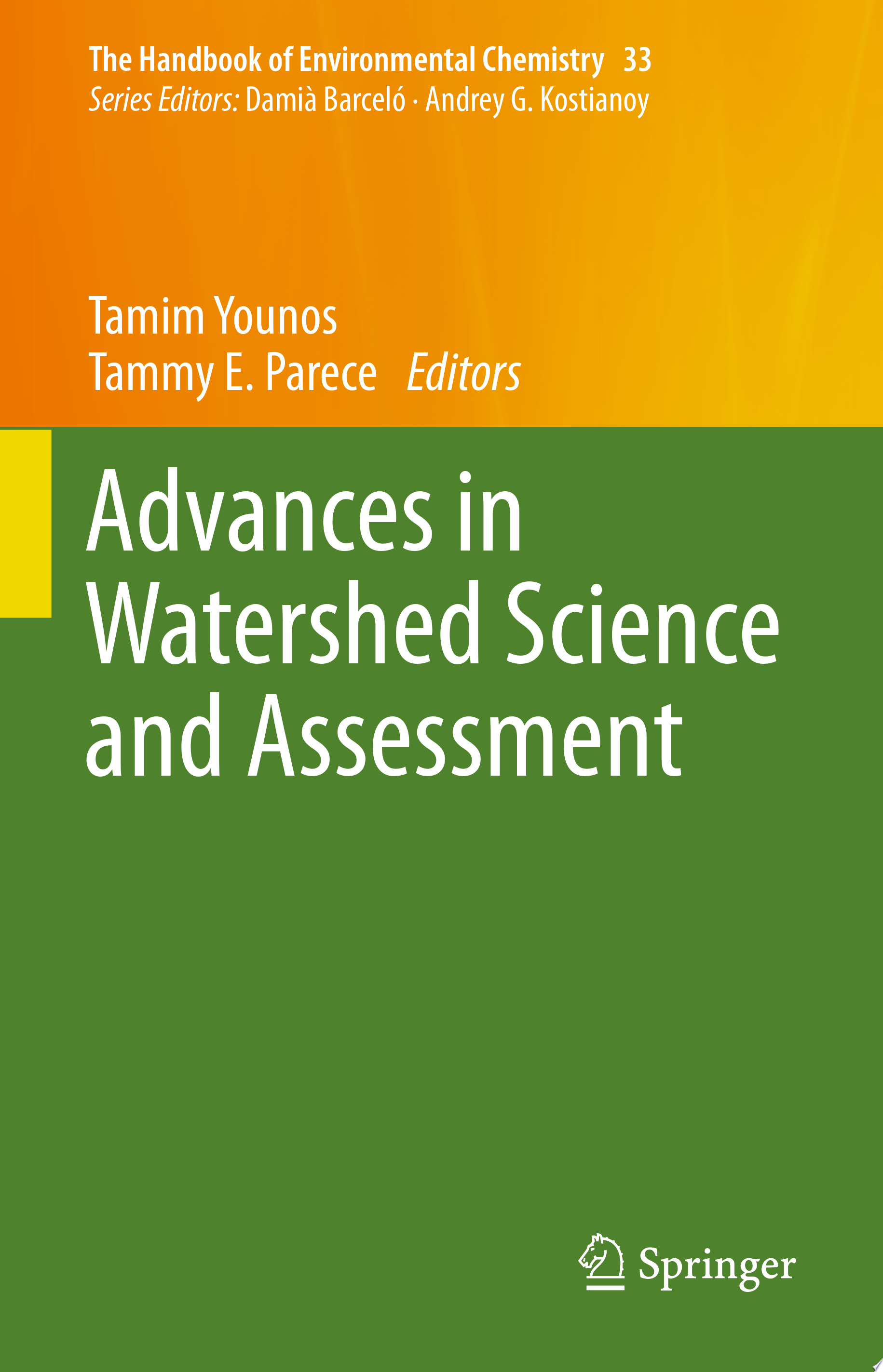 Advances in Watershed Science and Assessment