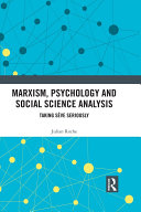 Pdf Marxism, Psychology and Social Science Analysis Telecharger