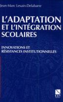 L'adaptation et l'intégration scolaires ebook