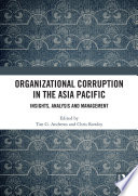 Organizational Corruption in the Asia Pacific