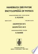 Geophysik III   Geophysics III