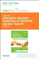 Williams  Essentials of Nutrition   Diet Therapy on VitalSource Retail Access Code