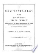 Das Neue Testament Unseres Herrn und Heilandes Jesu Christi Nach Der Deutschen Uebersebung Dr  Martin Luthers Book PDF