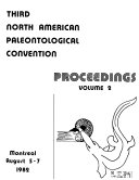 Third North American Paleontological Convention  Montreal  August 5 7  1982