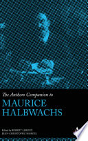 The Anthem Companion to Maurice Halbwachs