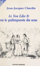 «As you like it», de William Shakespeare ebook