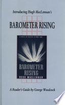 Introducing Hugh MacLennan's Barometer Rising