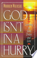 God Isn't in a Hurry
