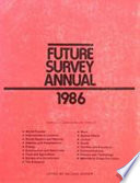 Future Survey Annual 1986 Book