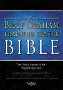 Billy Graham Training Center Bible-NKJV