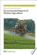 Environmental Impacts of Modern Agriculture Book