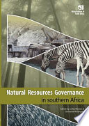 Natural Resources Governance in Southern Africa Book