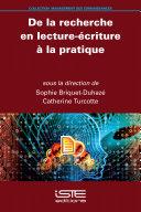 Pdf De la recherche en lecture-écriture à la pratique Telecharger