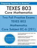 Texes  802 Core Mathematics Book