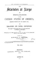 "Pdf ""The"" Public Statutes at Large of the United States of America ... Ed. by Richard Peters"
