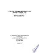 Cumulative Trauma Disorders In The Workplace Book PDF
