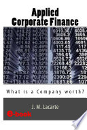 APPLIED CORPORATE FINANCE.What is a Company worth?
