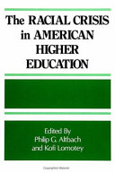The Racial Crisis in American Higher Education