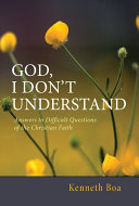God, I Don't Understand