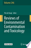 Reviews of Environmental Contamination and Toxicology Book