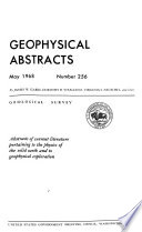 Geophysical Abstracts
