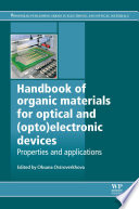 Handbook of Organic Materials for Optical and  Opto Electronic Devices