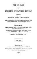 The annals and magazine of natural history  zoology  botany and geology