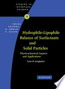 Hydrophile   Lipophile Balance of Surfactants and Solid Particles