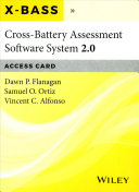 Cross Battery Assessment Software System 2 0  X BASS 2 0  Access Card