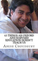 63 Things an Oxford and Harvard Education Doesn't Teach Us