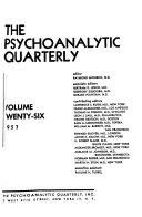 The Psychoanalytic Quarterly