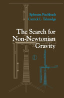 Pdf The Search for Non-Newtonian Gravity Telecharger