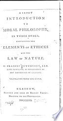 A Short Introduction to Moral Philosophy