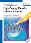 High Energy Density Lithium Batteries