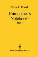 Ramanujan's Notebooks Pdf