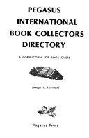 Pegasus International Book Collectors Directory