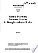 Family Planning Success Stories in Bangladesh and India Book
