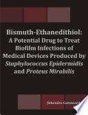 Bismuth Ethanedithiol Book