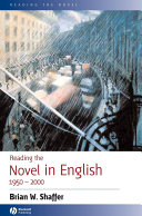Reading the Novel in English 1950 - 2000 Pdf