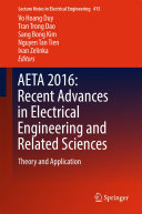 AETA 2016  Recent Advances in Electrical Engineering and Related Sciences