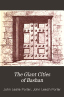 Pdf The Giant Cities of Bashan