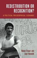 Redistribution Or Recognition? ebook