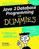 Java 2 Database Programming For Dummies