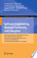Software Engineering, Business Continuity, and Education